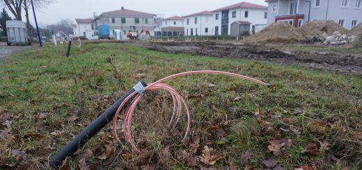 """In Neubaugebieten wie hier in Oyten ist die Anbindung ans Internet via Glasfaser inzwischen kein Problem mehr. In ländlichen """"Bestandsgebieten"""" hingegen schon.Foto: Bruns"""