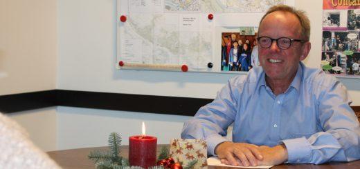 Ortsamtsleiter Heiko Dornstedt im Gespräch mit dem WESER REPORT. Foto: Füller