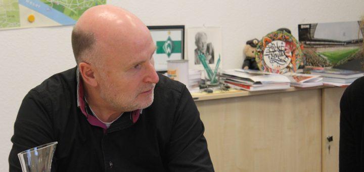 Blumenthals Ortsamtsleiter Peter Nowack im Interview. Foto: Füller