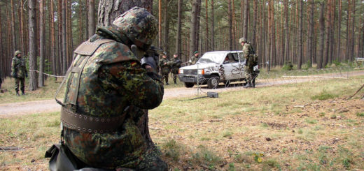 Suedlink-Planung: Militärische Anlagen sind mit der höchsten Raumwiderstandsklasse versehen, so auch der Truppenübungsplatz Bergen. Symbolfoto: WR