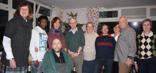 """Unter dem Namen """"Buntes Leben"""" realisieren diese zehn Personen ein inklusives Wohnprojekt und ziehen in ein Haus in der Neustadt. Foto: kh"""