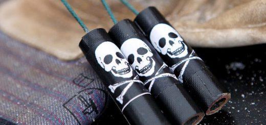 Finger weg von nicht geprüften Knallkörpern vom Schwarzmarkt. Diese können lebensgefährlich sein. Foto: WR