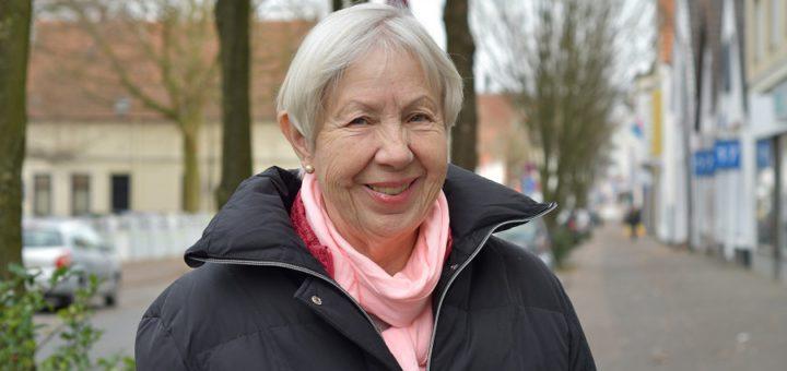 Immer reiselustig: Hanna Behrens aus Delmenhorst. Foto: Konczak