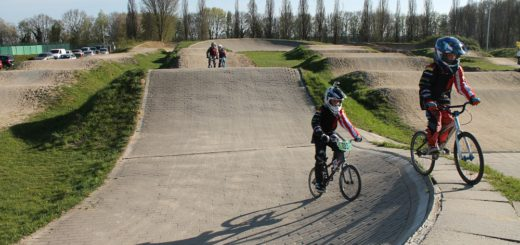 Vor allem die BMX-Anlage auf dem Oeversberg ließe sicht nicht einfach verlegen. Foto: av