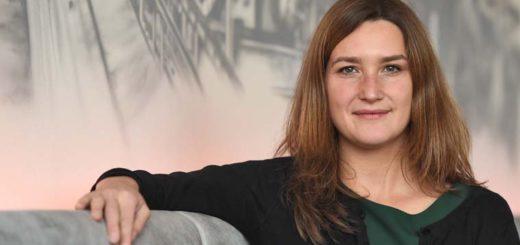 """Tascha Schnitzler hat sich mit ihrer ungewöhnlichen Geschäftsidee """"Raumperle"""" selbstständig gemacht. Foto: Schlie"""