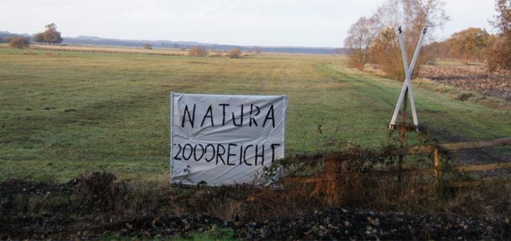 Besonders in der Ortschaft Teufelsmoor engagieren sich die Gegner weiterer Verschärfungen für den Naturschutz. Foto: Möller