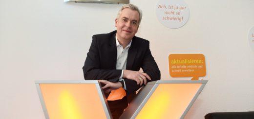 Jörg Engster, geschäftsführender Gesellschafter von Xpedeo, kann nicht über Auftragsnot klagen.Foto: Schlie