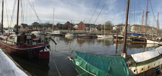 Im März soll der Vegesacker Museumshafen Teil des geplanten nautischen Flohmarktes werden. Foto: Spier