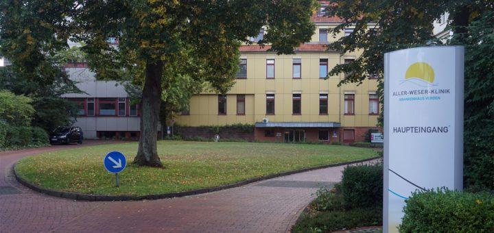Die Aller-Weser-Klinik in Verden. Vor 125 Jahren wurde in der Allerstadt das erste Krankenhaus eröffnet.Foto: WR