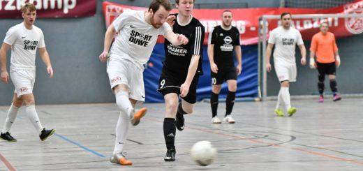 Spielszene TV Jahn gegen Wardenburg