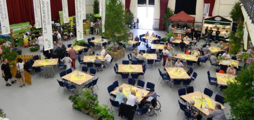 Auch das beliebte Landfrauen-Café in der Stadthalle ist eine feste Größe bei der 13. Publica im Mai. Archivfoto: Bosse