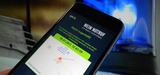 Mithilfe verschiedener Apps sollen Smartphone-Nutzer bei Unfällen ihren Standort und Daten zu ihrer Person noch exakter an die Rettungskräfte übermitteln können. Foto: Bosse