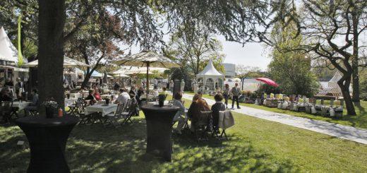Die Landpartie Weserfest fand im Jahr 2016 zum voresrt letzten Mal im Stadtgarten Vegesack statt. Foto: Archiv