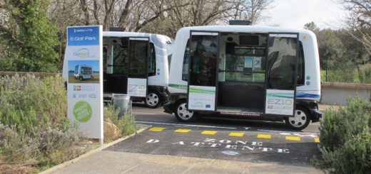 In anderen europäischen Ländern, wie etwa hier in Südfrankreich, gab es bereits Versuche mit selbststeuernden Bussen.Foto: pv