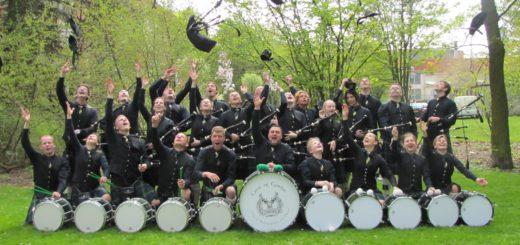 Die Band Crest of Gordon will mit ihren Dudelsäcken bei Deutschlands größtem Wettbewerb bestehen und hat ihn nach Bremen geholt. Foto: Privat