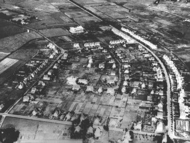Luftbild Düsternort um 1930.