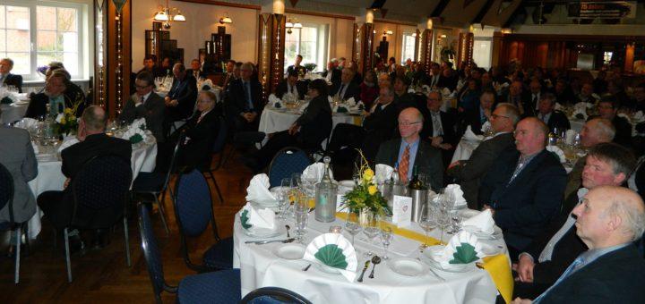 Ehrengäste aus Politik, Wirtschaft und Verbandsleben kamen zum 75-jährigen Jubiläum des GLV in Grasberg zusammen. Foto: Bosse
