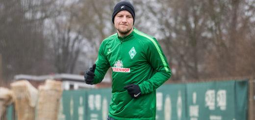 Mit der Mannschaft konnte Philipp Bargfrede dieses Jahr noch nicht trainieren. Im Laufe der Woche soll darüber entschieden werden, wann er voll einsteigt. Foto: Nordphoto