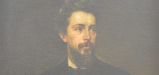 """Das """"Porträt Arthur Fitger"""" von Otto Lingner (Öl auf Leinwand, 1884) wird in Vegesack gezeigt. Foto: Overbeck-Museum"""