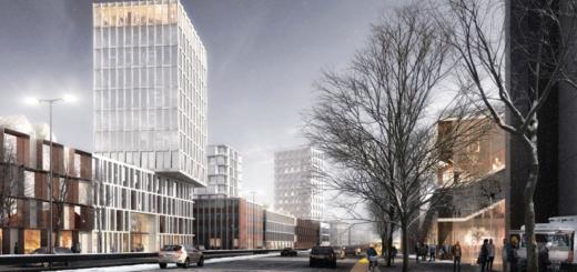 Die Vision für das Faulenquartier: Weitere Gebäude neben dem Bundeswehrhochhaus. Grafik: RealLaborII