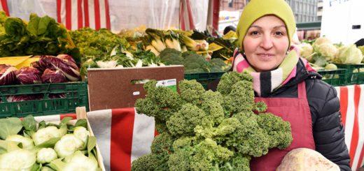 Kohl, Fenchel und Steckrüben vom Markt sind gesund und erschwinglich. Foto: Schlie