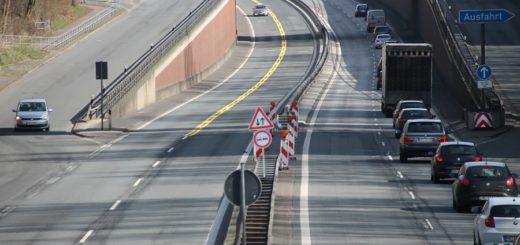 Da fehlt doch was: Seit dem vergangenen Jahr gibt es auf einem Teilstück der A270 keine Beleuchtung mehr. Sie soll auch nicht wiederkommen. Foto: Spier