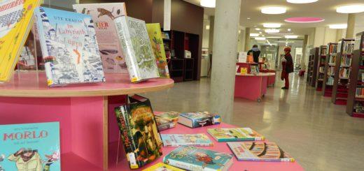 Die Bibliothek im Medienhaus befindet sich seit Januar in alleiniger Trägerschaft der Stadt Osterholz-Scharmbeck. Foto: Bosse