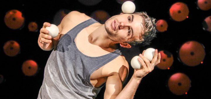 Jimmy Gonzales hat die Kunst der Balljonglage revolutioniert. Foto: GOP