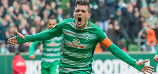 Zlatko Junuzovic sorgte mti seinem zweiten Saisontreffer für Werders 1:0-Führung gegen Leipzig. Foto: Nordphoto