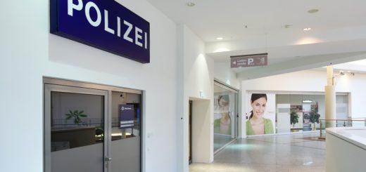 Die Zukunft der Polizeistation im Weserpark ist ungewiss. Foto: Schlie