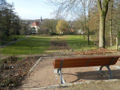 """Als eine """"versteckte kleine Perle"""" bezeichneten Rathausvertreter den Stadtpark. Auch er müsse stärker ins Gesamtbild der Innenstadt eingebunden werden. Foto: Bosse"""