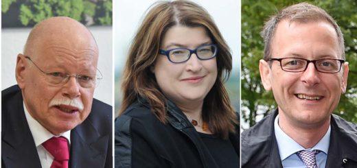 Ulrich Mäurer, Anja Stahmann und Martin Günthner haben sich gegen eine geschlossene Einrichtung für jugendliche Straftäter entschieden. Foto: WR