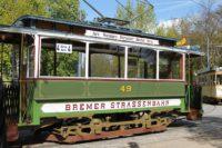 Bremens erste elektrisch betriebene Straßenbahn befuhr von 1900 bis 1954 die Bremer Straßen. Foto: Raddatz