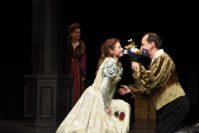 Erika Spalke und Markus Seuß als Julia und Romeo. Foto: Marianne Menke