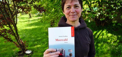 """In ihrem zweiten Roman """"Meerzahl"""" geht Annette Freudling auf tragikomische Weise mit einem unerfüllten Kinderwunsch als zentralem Thema um. Foto: Bruns"""