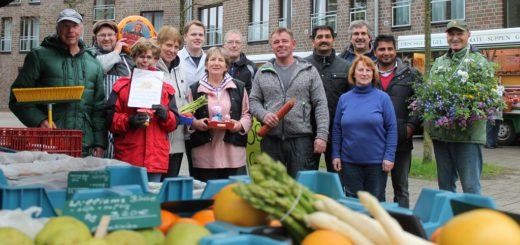 Die Marktbeschicker sorgen auch am 12. Mai beim Frühlingsfest auf dem Arster Wochenmarkt für gutes Essen und regionale Produkte. Foto: Füller