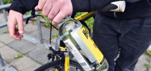 Das Fahrrad: Fortbewegungsmittel erster Wahl um betrunken nach Hause zukommen. Foto: Schlie