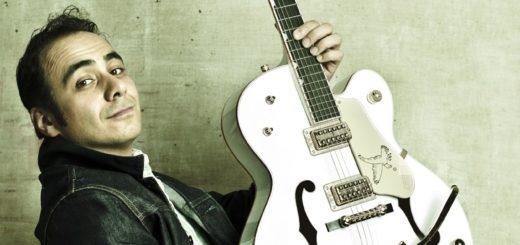 Rockabilly-Gitarrist André Tolba ist in diesem Jahr mit von der Partie auf der Delmenhorster Gitarrennacht in der Markthalle.Foto: pv