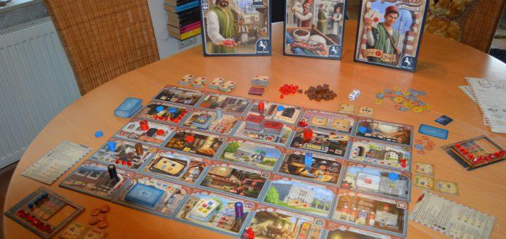"""Das Spiel """"Istanbul"""". Foto: Sieler"""