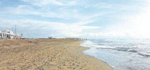 Sand soweit das Auge reicht: Der Strand von Maspalomas.Foto: Kaloglou