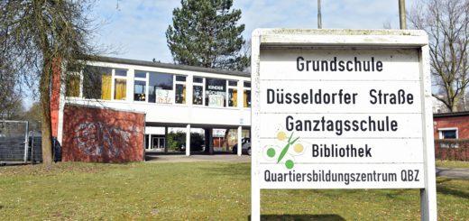 Die Grundschule Düsseldorfer Straße. Foto: Schlie