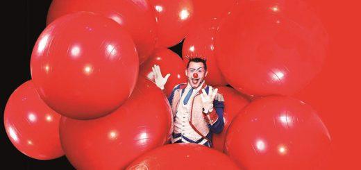 "Ab Freitag im Zirkus Charles Knie zu erleben: ""Henry - The Prince of Clowns"". Foto:pv"