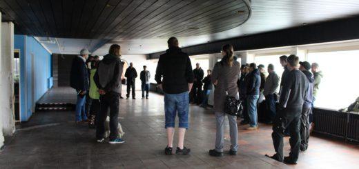 Zu einem Beteiligungsprozess hatte die ZZZ vor einigen Wochen in das entkernte Lankenauer Höft eingeladen. Foto: Füller