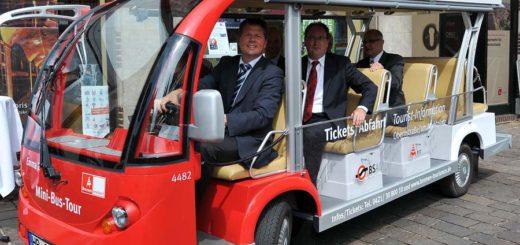 """2011 ist die erste """"Emma"""" in Betrieb genommen worden. Seitdem haben sie jährlich bis zu 15.000 Fahrgäste transportiert.Foto: WR"""