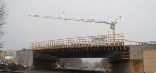 Brücke an der B75 im Januar: Foto: ASV