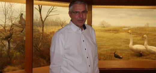 Der Vorsitzende des Fördervereins der Freunde der Museumsanlage, Dr. Detlef Risch, freut sich, dass es gelungen ist, wenigstens einen Notbetrieb fürs Museum zu vereinbaren. Foto: Möller