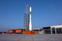 So sah die Rakete aus, als sie noch am Space-Park (heute: Waterfront) im Einsatz war. Foto: Schlie