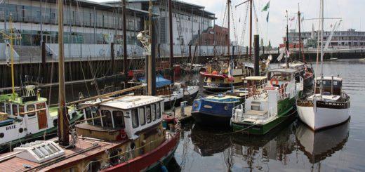 Der Museumshaven Vegesack beheimatet viele Traditionsschiffe. Sie sind Kernpunkt der Sicherheitsverordnung des Bundesverkehrsministeriums. Foto: Harm
