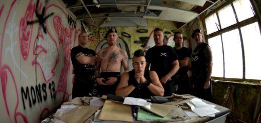 """Die Belgier von der Band """"Black Tartan Clan"""" bringen melodischen Punk-Rock und keltisch traditionelle Klänge mit. Foto: pv"""