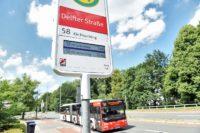 Rund 1.000 Fahrgäste steigen täglich an der Delfter Straße ein.